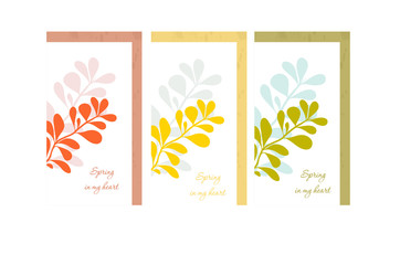 barberry card vector