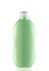 Obraz zielony pojemnik na kosmetyk - fototapety do salonu