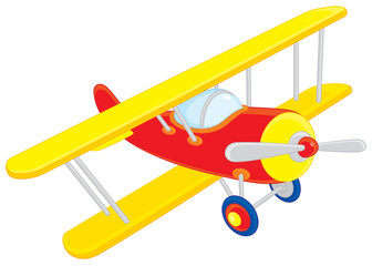 Printed roller blinds Airplanes, balloon Toy plane