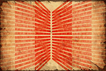Fond de hotte en verre imprimé Affiche vintage Retroplakat - Digitale Vergangenheit