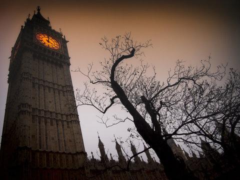 Spooky Big Ben