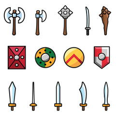 Arms and Shields