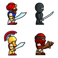 Papiers peints Super heros Historical battle characters