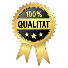 Siegel - 100% Qualität