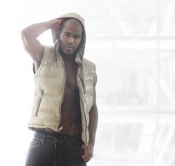 Hip male model