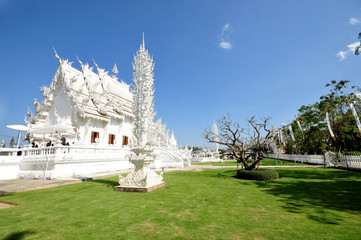 Magnificently grand white church
