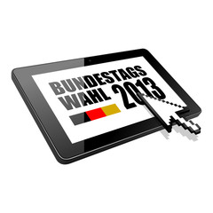 tablet bundestagswahl 2013 I