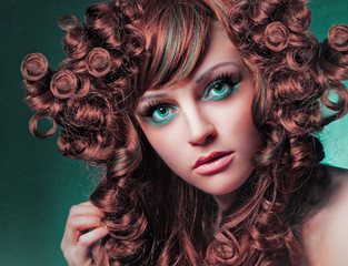 Extrem styling portrait / haircolors 29_2