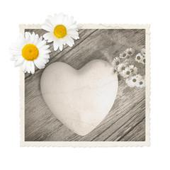Alles Liebe, Herz, Holz, ich liebe dich, grunge, Bildmarke