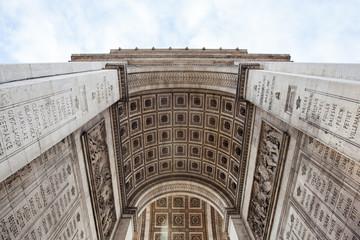 Fotomurales - Arch detail of Arc de Triomphe