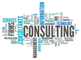 """Word Cloud """"Consulting"""""""
