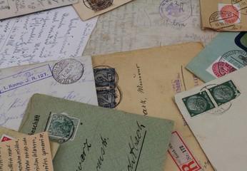 Antike Post