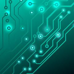 circuit board background. eps10 vector illustration