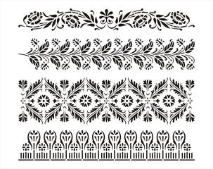 paisley floral pattern, textile , Rajasthan, royal India