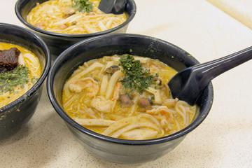Singapore Curry Laksa Noodles