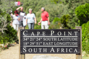 Cape point pathway Wall mural