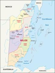 Belize Administrativ