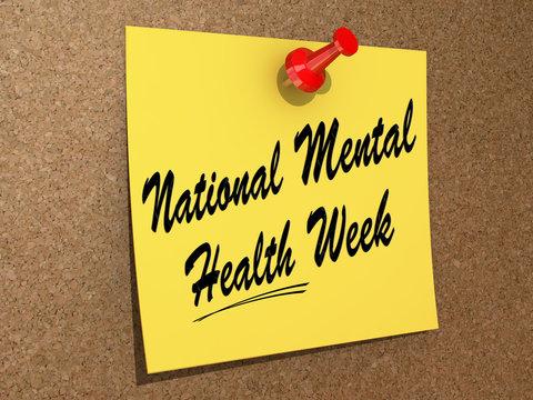 National Mental Health Week