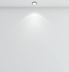 lamp on ceiling
