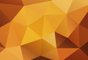 gold Geometric background vector eps 10