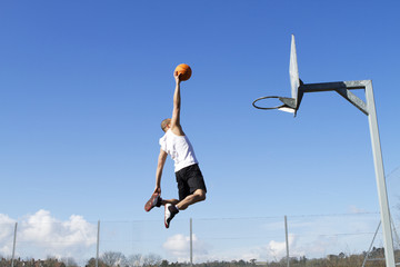 Basketball Aerial Dunk