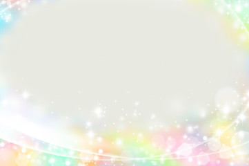 Colorful shines background