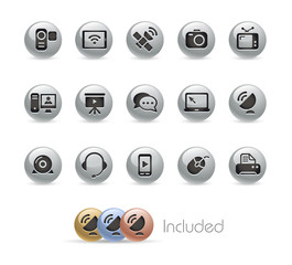 Communications Icons / Vector includes 4 Colors