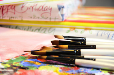 Birthday in handmade style