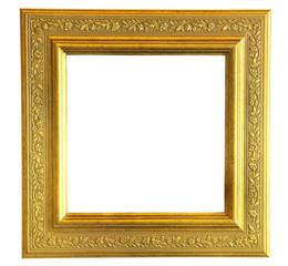 Vintage gooden wood photo frame