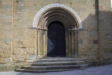Fototapeta Church of Santa Eugenia de Berga