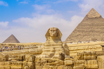 Printed roller blinds Egypt Sphinx and the Great Pyramid in the Egypt