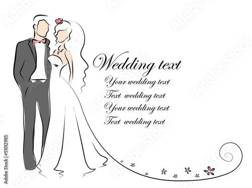 414fb1d3455cca3 Силуэт невесты и жениха, фон, свадебные приглашения, вектор ...