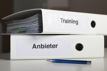Ordner Training und Anbieter