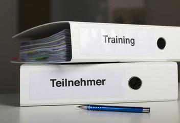 Ordner Teilnehmer und Training