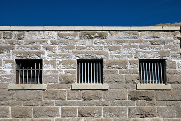 Prison Barred Windows