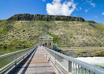 Bridge and Idaho Diversion Dam Poswer station