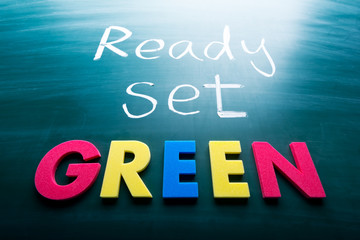 Ready, set, green!