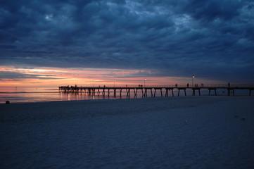Sunset Beach Dusk