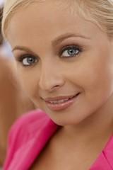 Closeup portrait of beautiful businesswoman