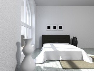Wohndesign - Schlafzimmer modern