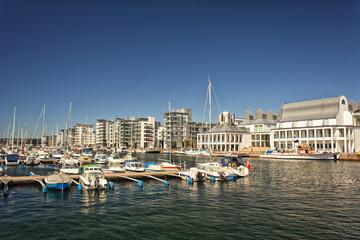 Luxury marina in Helsingborg, Sweden