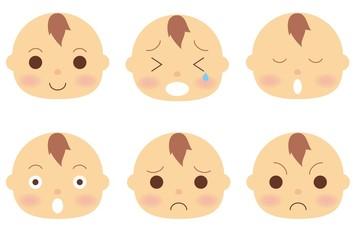 赤ちゃん 顔 バリエーション