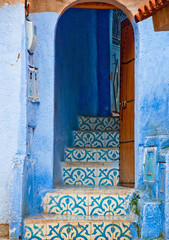 Architectural details and doorways of Morocco