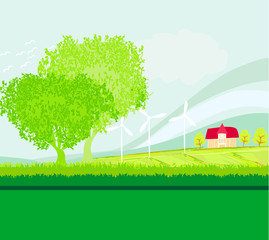 Eco farming - landscapes