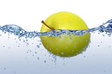 In de dag Opspattend water Wasser 45