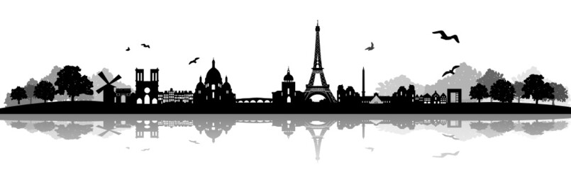 Paris Skyline Landschaft