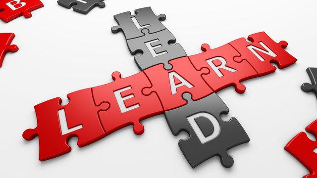 text lead learn
