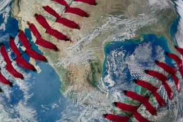 Earth as a baseball Ball