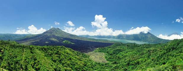 Aluminium Prints Indonesia Batur volcano