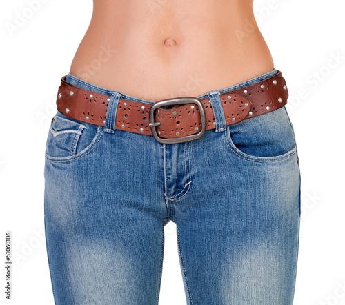 Фото джинсы голых девушке